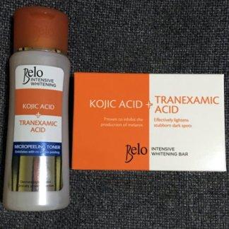 belo tranexamic toner and soap new