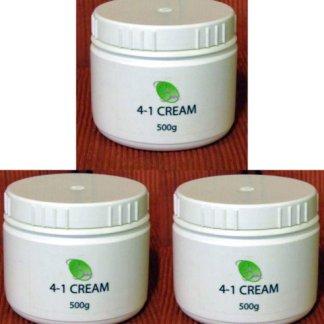 derm option 4 in 1 cream new