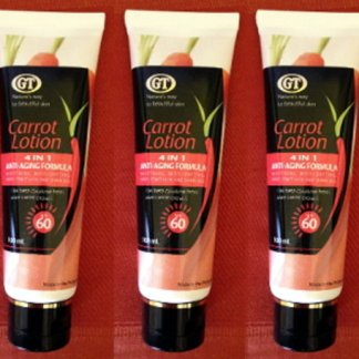 gt carrot lotion 2 new