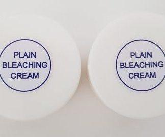 plain bleaching cream