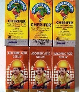 3 Cherifer and 3 Ceelin new