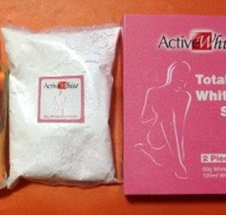 2 pcs Set Active White new 2