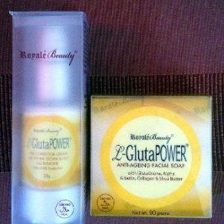 Royale Arbutin Soap & Cream new
