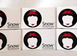 snow soaps 6 pcs