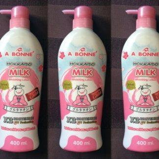 A bonne hokkaido milk lotion