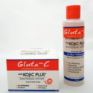 gluta c kojic plus cream and toner 1