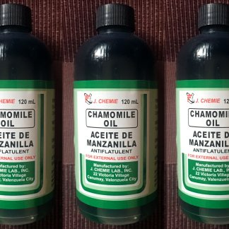 J chemie aceite de manzanilla
