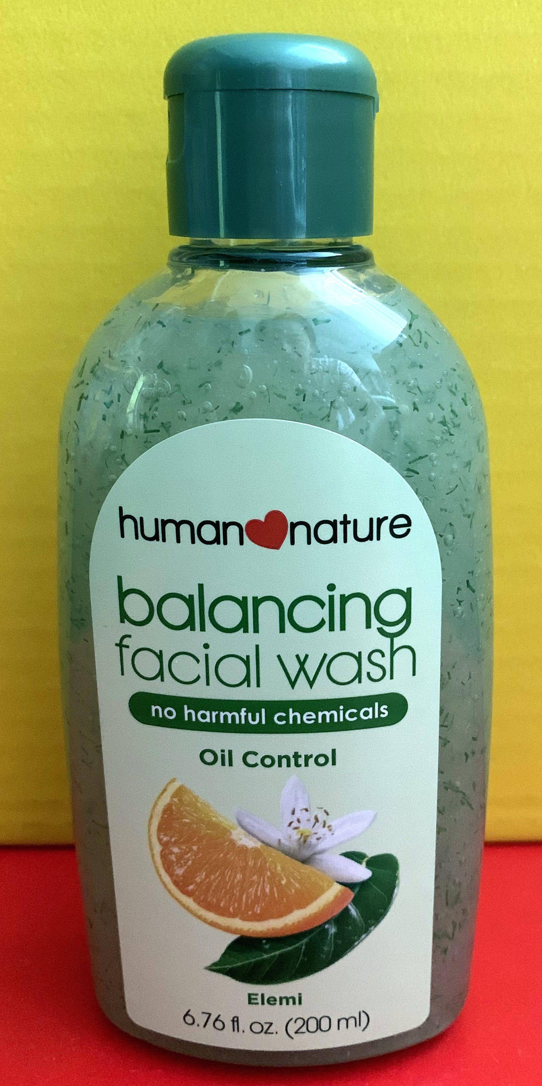 wash Natures way facial