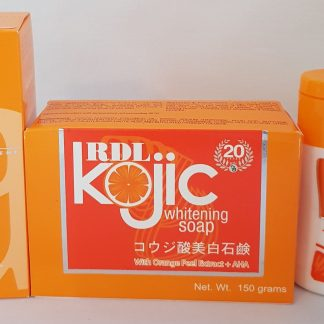 rdl #1, kojic soap and lotion