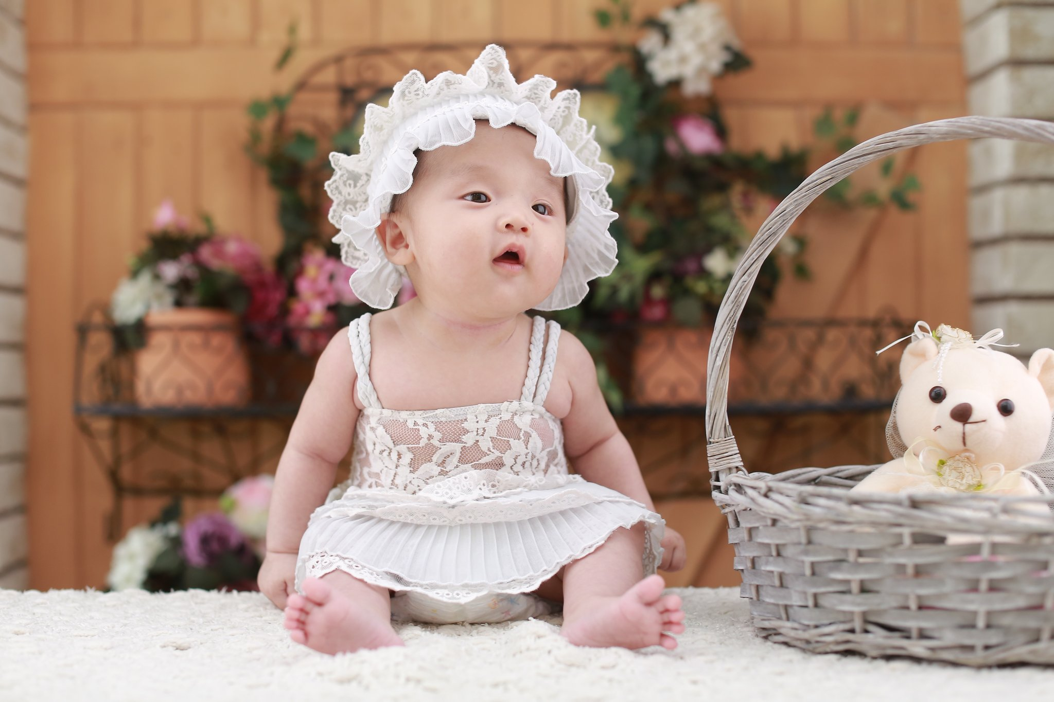 Free Photo Baby Girl Babies Baby Blue Free Download Jooinn