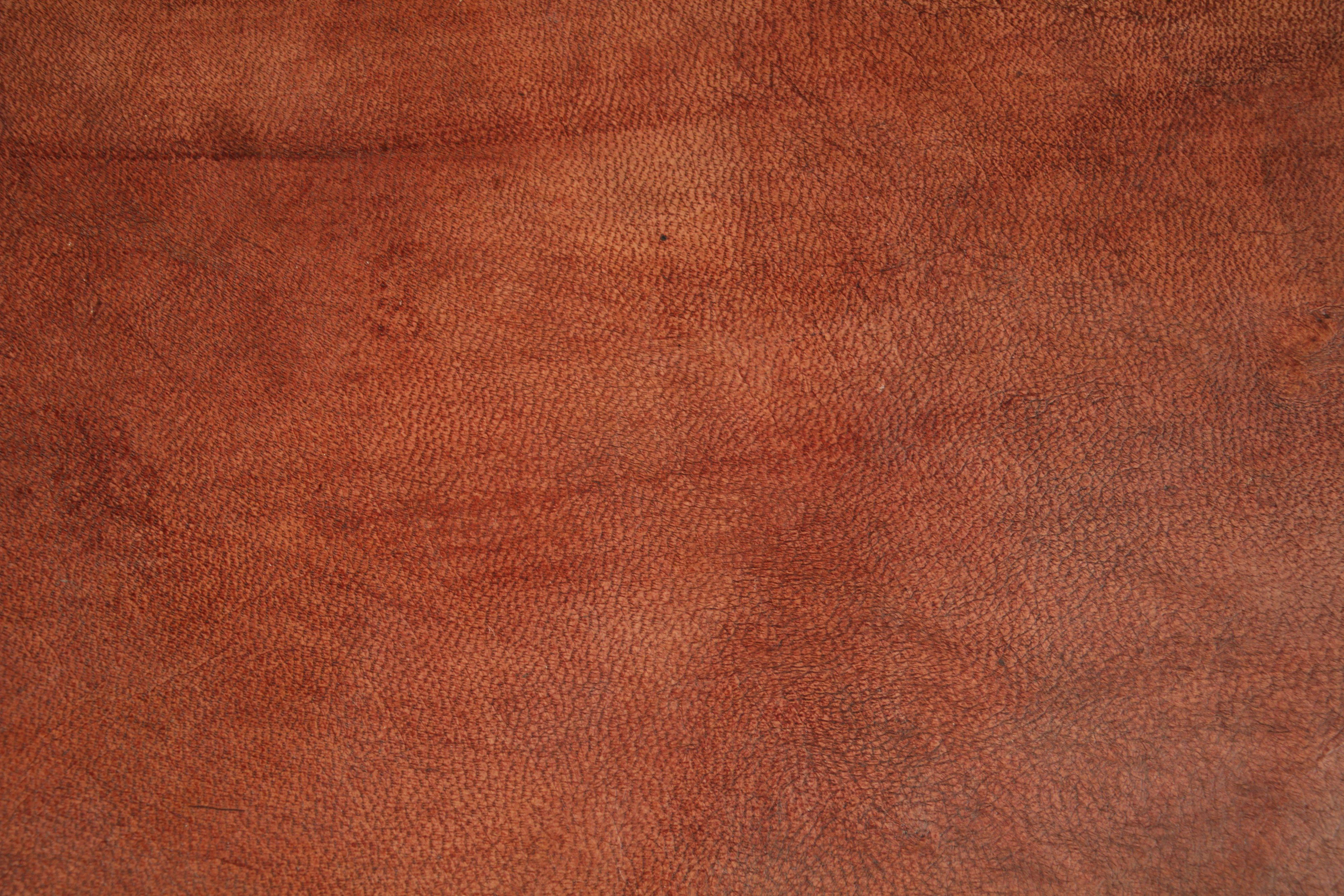 Leather And Cloth Couch