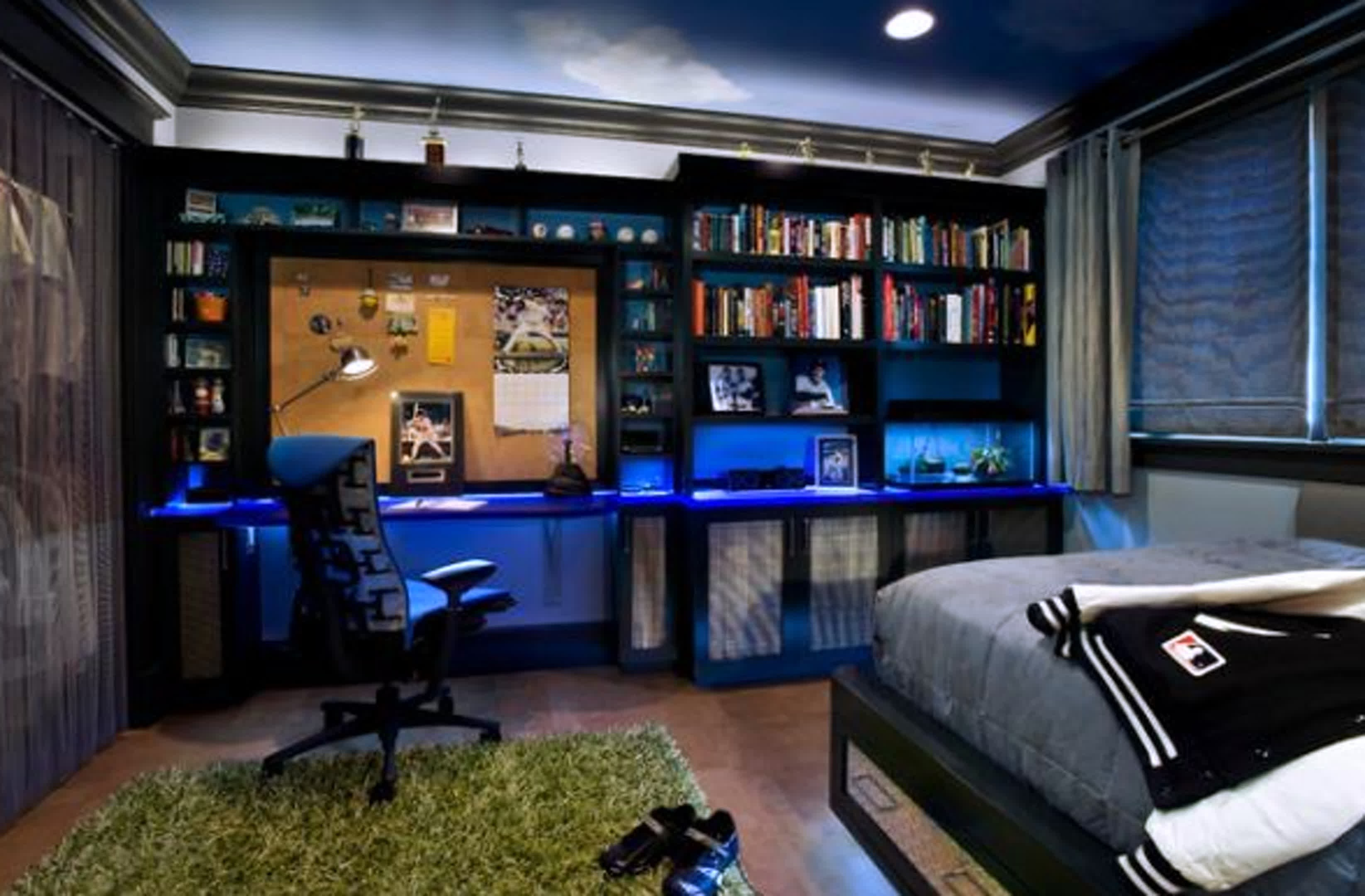 Free photo: Cool Room - Architecture, Lights, Unique ... on Small Room Decor Ideas For Guys  id=77984