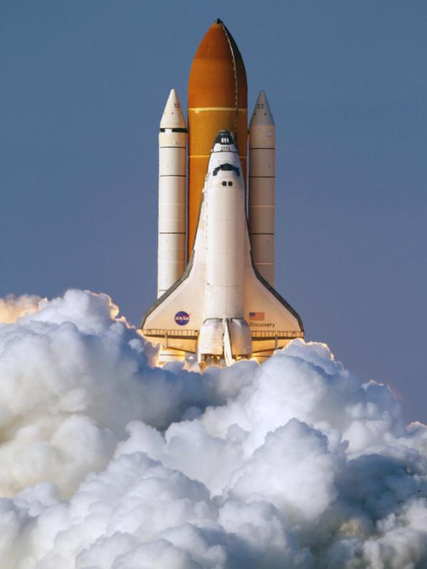Free photo Space Shuttle Transport Space Shuttle