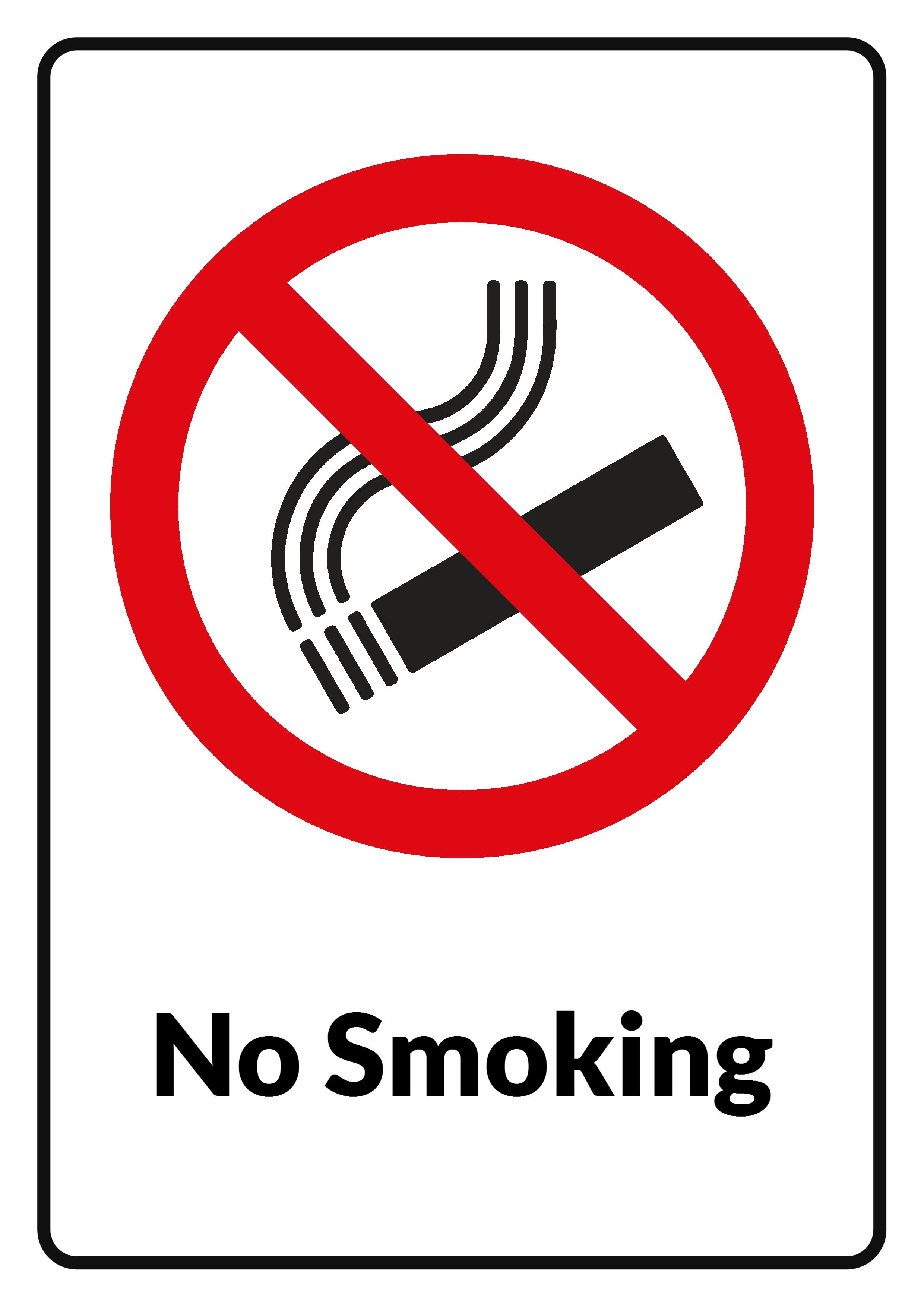 Free Photo No Smoking Sign