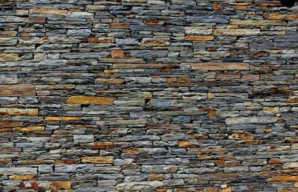 Free photo: Stone Wall - Stone Texture - Schist ...