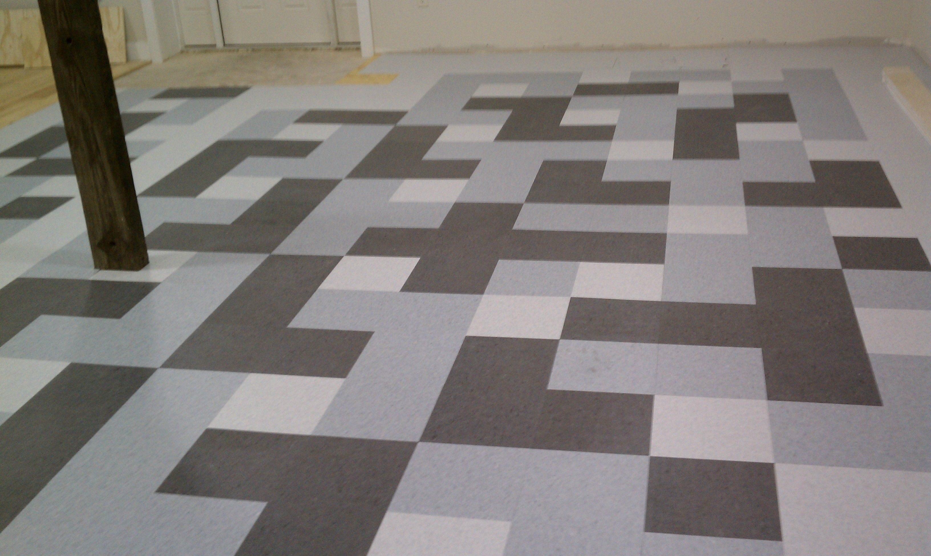 diy painting concrete floors