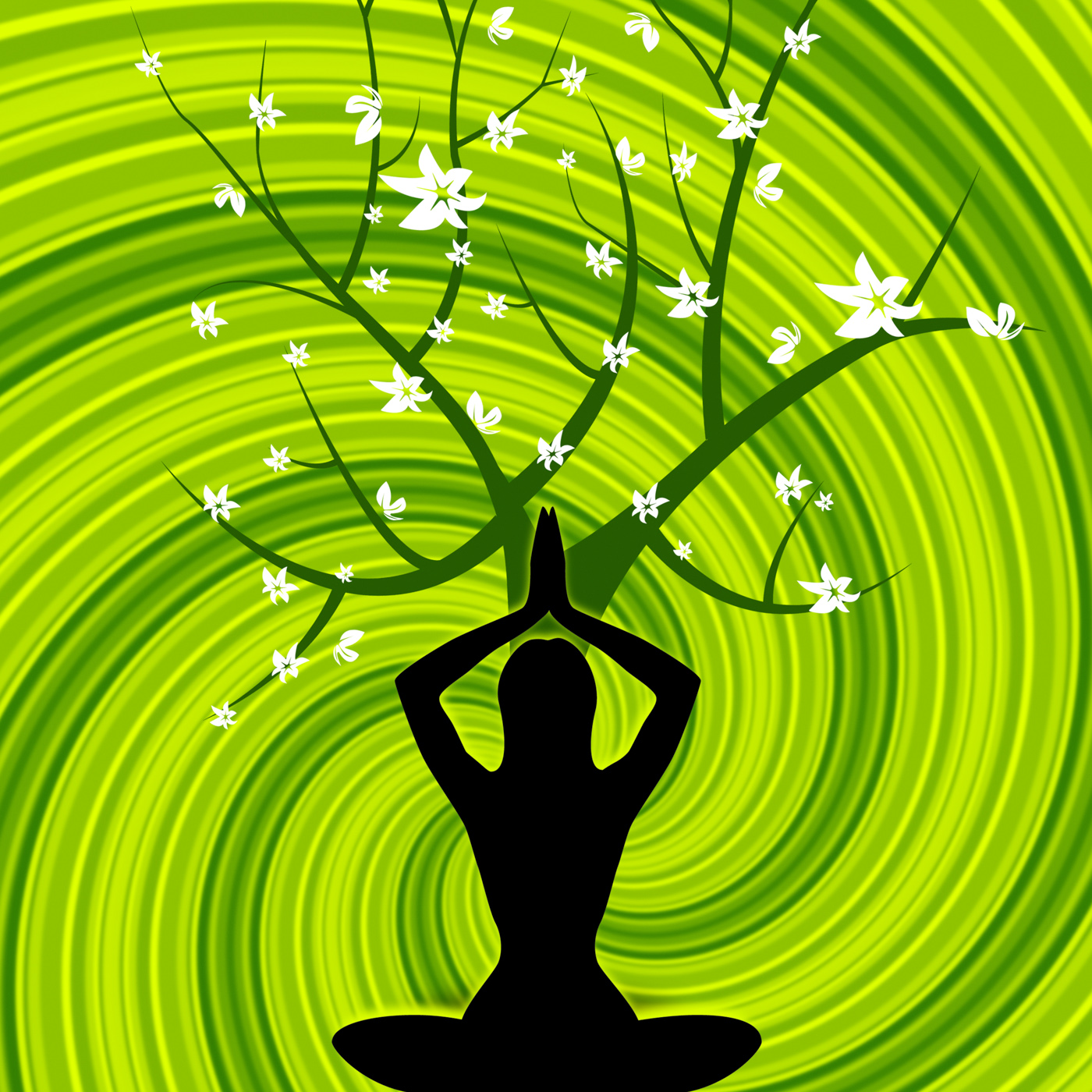 Free Photo Yoga Pose Means Relaxing Relaxation And