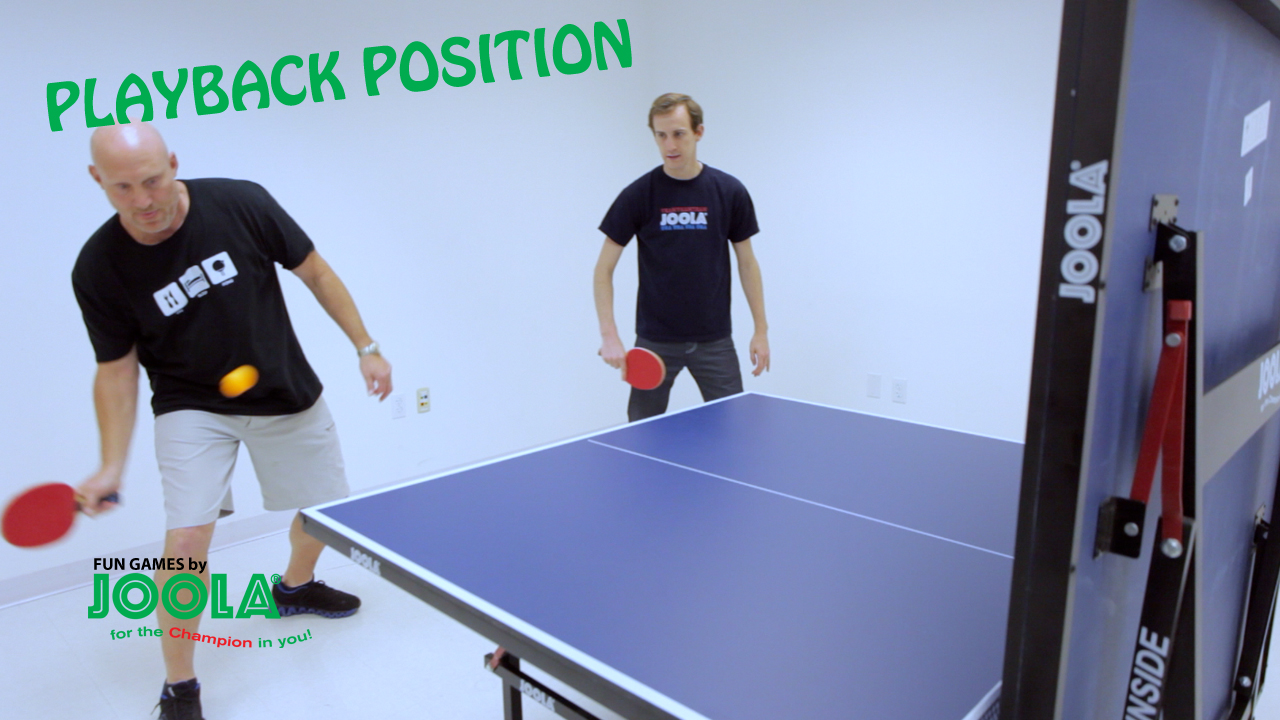 JOOLA Fun Games: The Playback Position