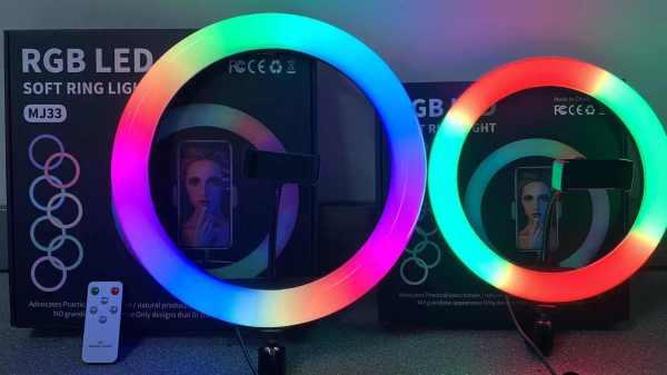 RGB Ringlys Med Stativ