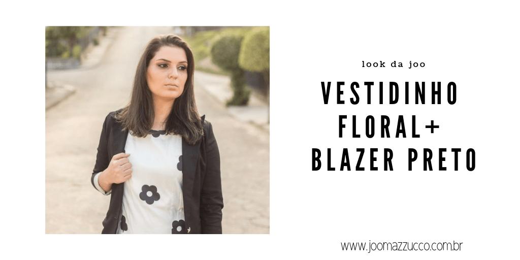 Elegance Functionality 57 - Look da Joo: Vestidinho e Blazer