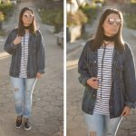 Look da Joo: Arrastão + Jeans Destroyed e Jaqueta Oversized