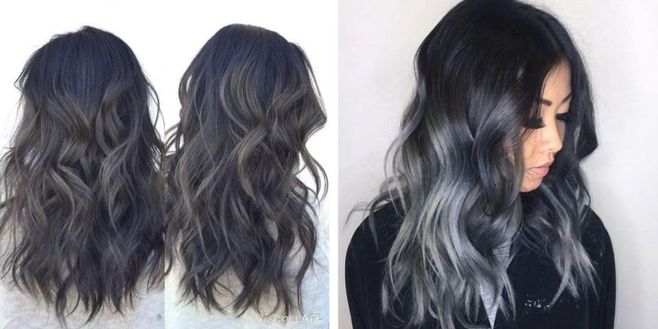 "charcoal 04 - Trendy: Charcoal Hair - O Cabelo Cor de ""Carvão"""