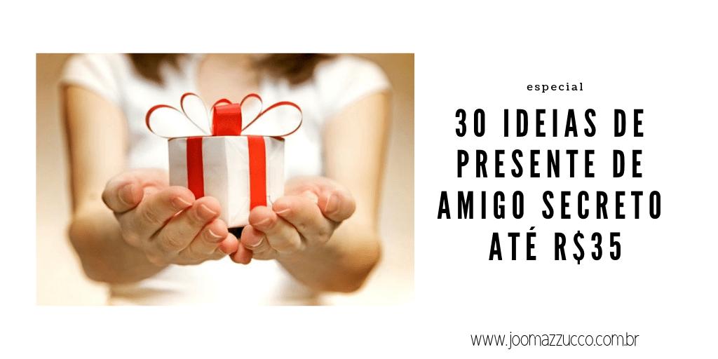 Elegance Functionality 91 - 30 Ideias de Presente de Amigo Secreto até R$35
