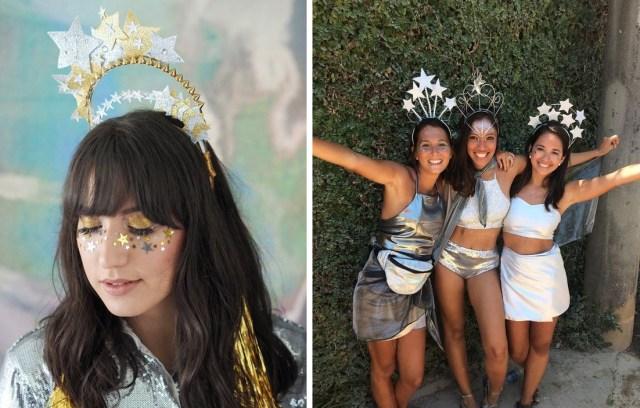 Fantasia de constelação 02 - 04 Fantasias de Carnaval Fáceis e BBB - DIY