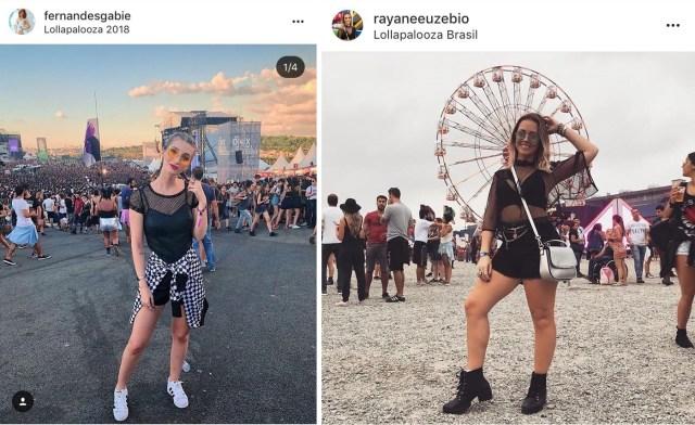 Looks do Lollapalooza 2018 03 - 15 Looks Incríveis do Lollapalloza 2018
