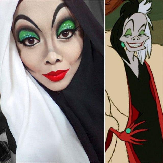 Maquiagens Dos Vilões da Disney