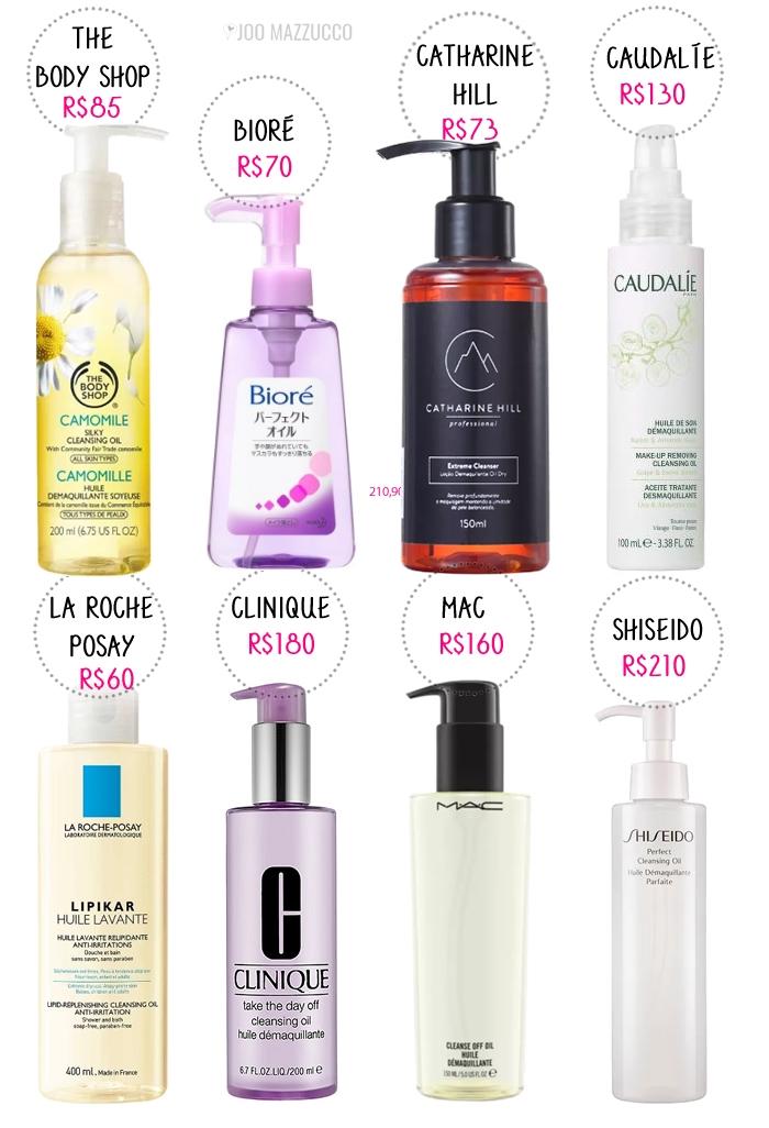 Os Cleanser Oil ou Óleos de Limpeza Facial