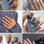 Inspiração de unhas pro finde: Esmalte Cinza