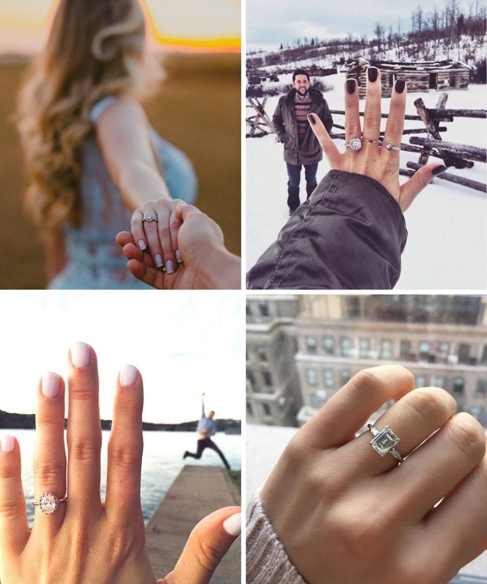 Ideias para noivado 022 700x838 - + 12 Idéias de Fotos pra Anunciar o Noivado nas Redes Sociais