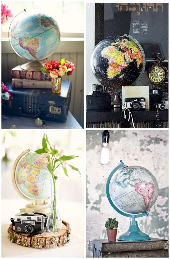 globo - Decorlovers: Como usar Mapas na Decoração e arrasar!