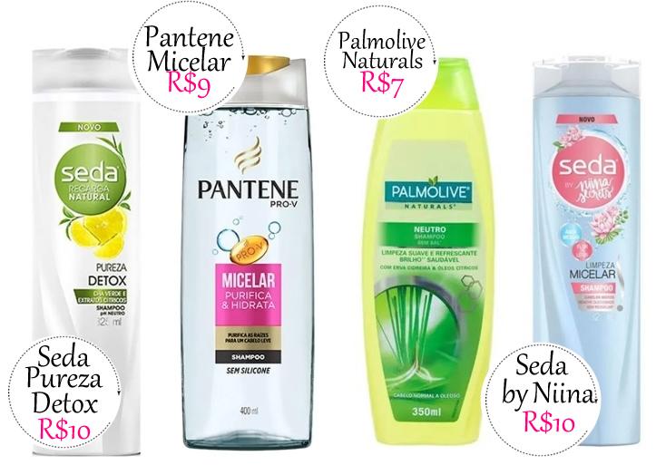 Shampoo transparentes baratex 02 - 4 Opções de Shampoo Transparente Barato pros Dias de Hidratação