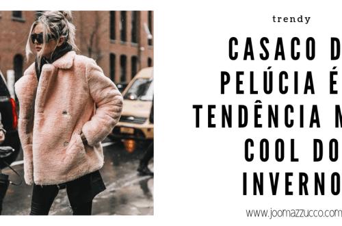 Elegance Functionality 7 - Casaco de Pelúcia é a Peça mais Cool deste Inverno!