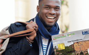 The M-PESA PrePay VISA Safari Card