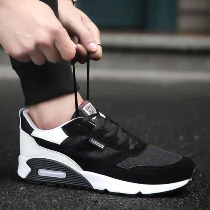 Black sneakers for men