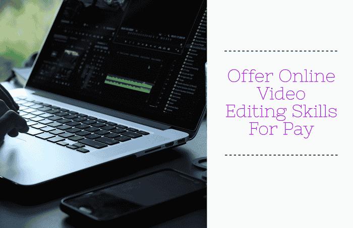Take Video editing jobs online