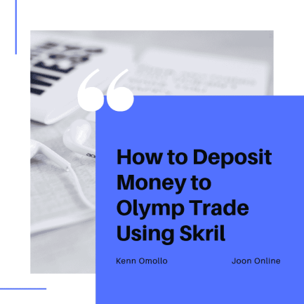 How to deposit money to Olymp Trade - Mpesa