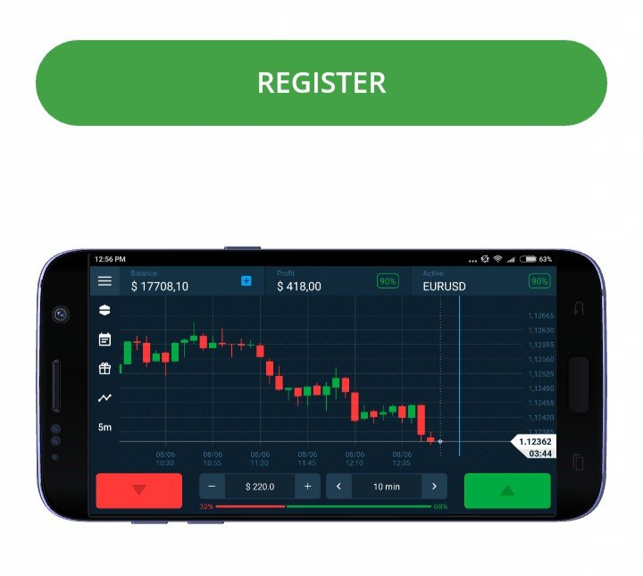 Olymp Trade android app