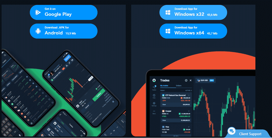 Olymp Trade App for Desktop