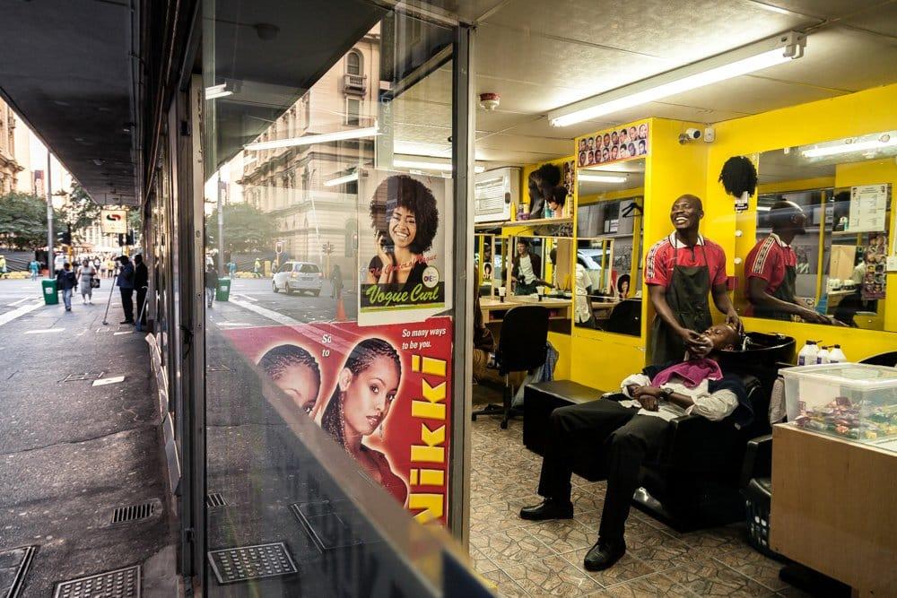 Barbershop business in Kenya
