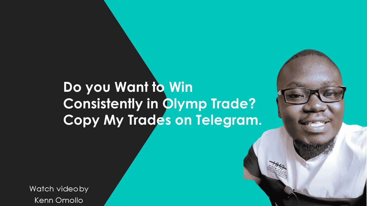 Copy My Trades to win consistently on Olymp Trade