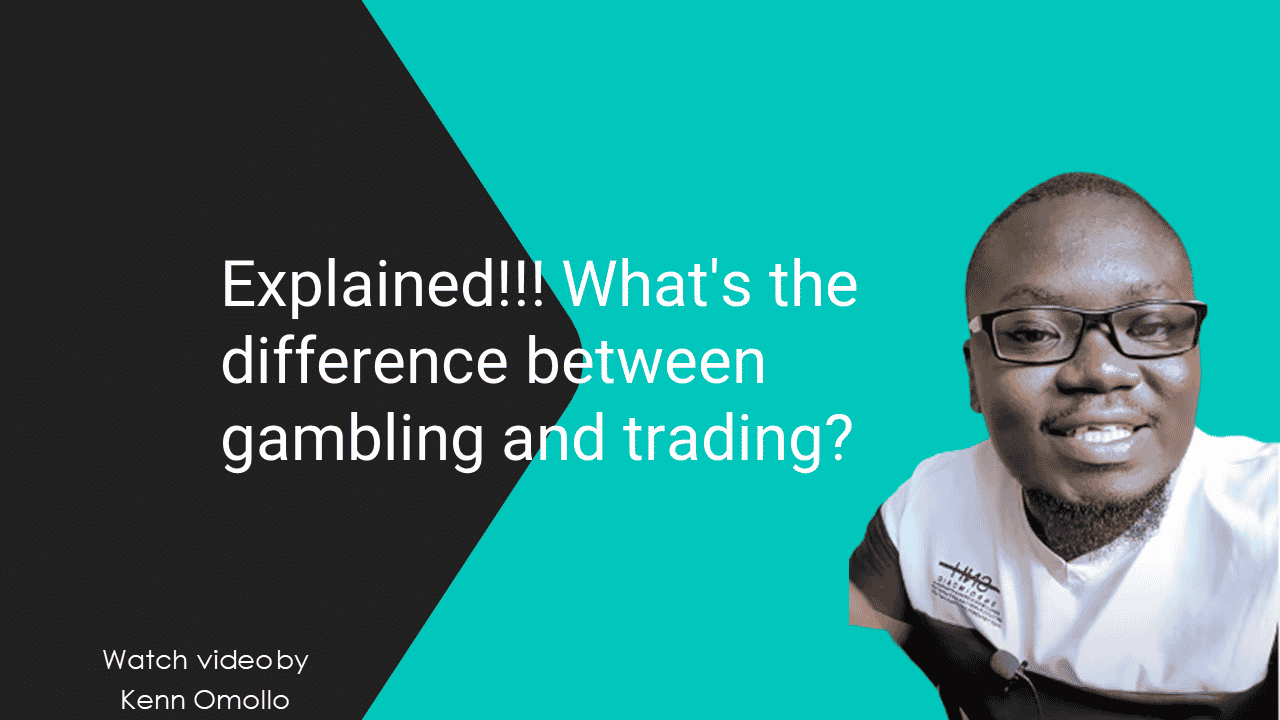 Explained. What's the difference between gambling and trading?