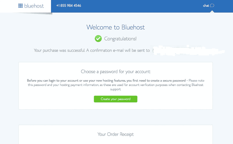 You are now a blogger with bluehost