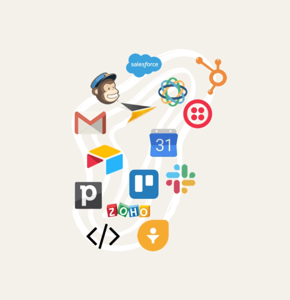 connect Joonbot to any apps you need thanks to Zapier, one of our chatbot integrations.