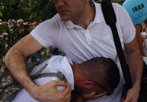 Sorrow of Iran Boat participants after skipper left the boat on the side