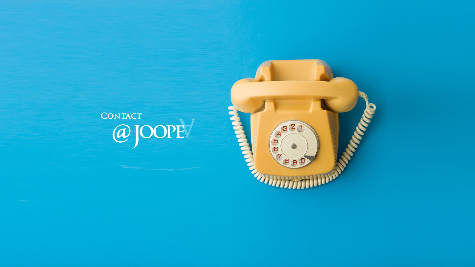 JoopeA Foundation - Contact