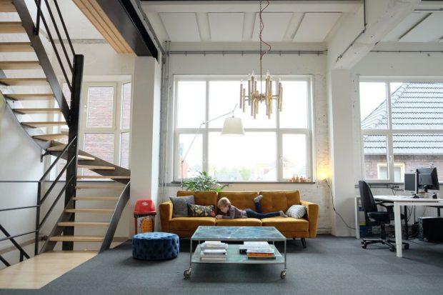 Interieurfoto van de eerste verdieping. Foto Joost Reijnen